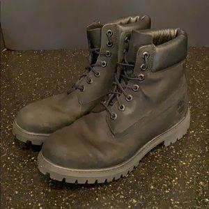 """Timberland 6"""" Basic Waterproof Boots. Black. 10M"""